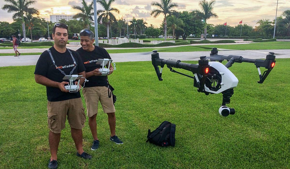 renta de drones en cancun y riviera maya